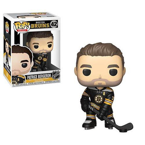 Funko Pop! NHL: Patrice Bergeron Bruins Pop! Vinyl Figure #42-Fumble Pop!