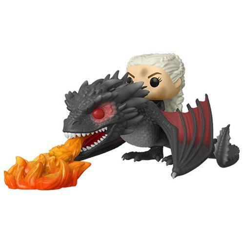 Funko Pop! Television: Game of Thrones Daenerys on Fiery Drogon Pop! Vinyl Vehicle (Pre-Order)