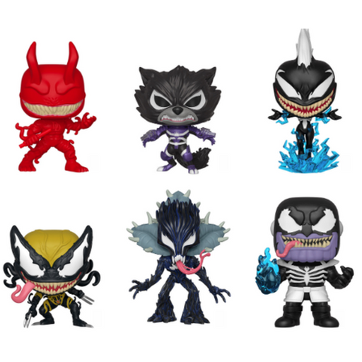 Funko Pop! Movie: Marvel Venomized Series Complete set of 6 Pop! Vinyl Figure (Pre-Order)-Fumble Pop!