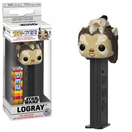 Funko Pop! PEZ Star Wars Logray Candy Dispenser (Pre-Order)-Fumble Pop!