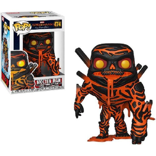 Funko Pop! Movie: Spider-Man Far From Home Molten Man Vinyl Figure #474 (Pre-Order)-Fumble Pop!