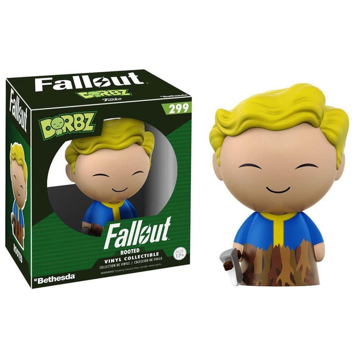 Funko Pop! Dorbz: Fallout - Vault Boy Rooted (Vinyl Figure)-Fumble Pop!