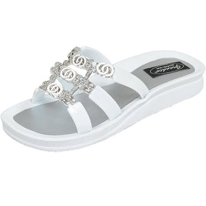 28272 Link Ring Slide - White