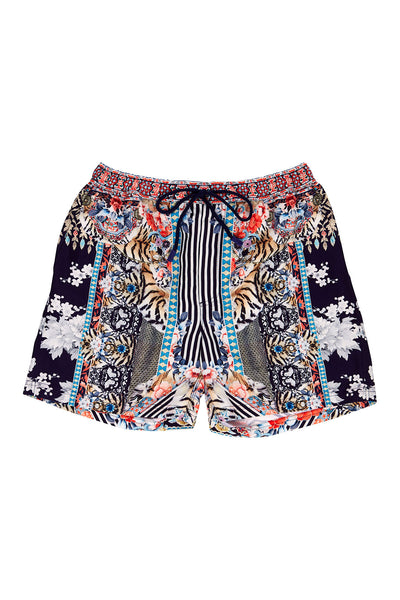 CAMILLA THE LONELY WILD MENS ELASTIC WAIST BOARDSHORT