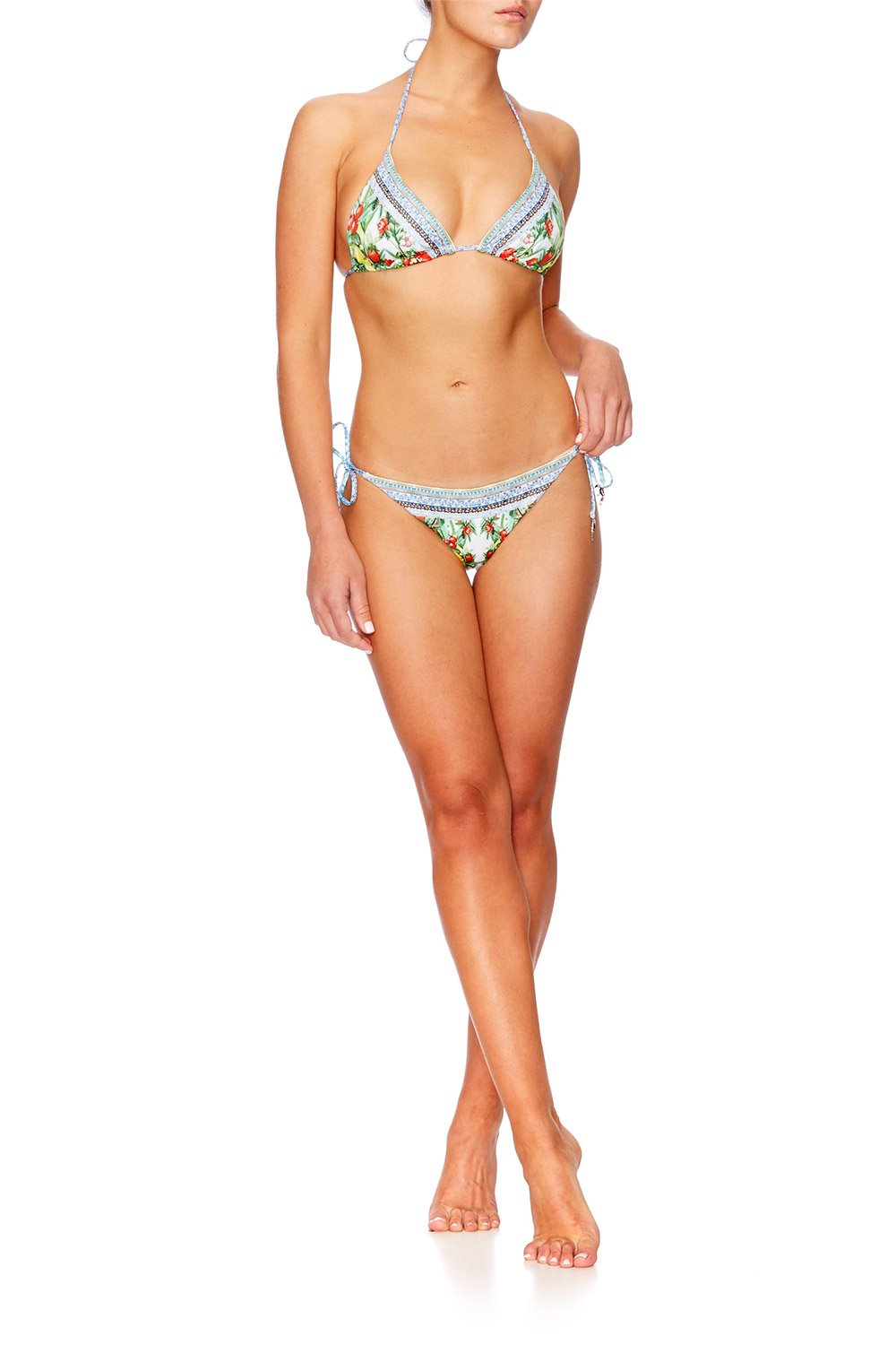 ONE FLEW OVER TRI BIKINI W BEADS SET