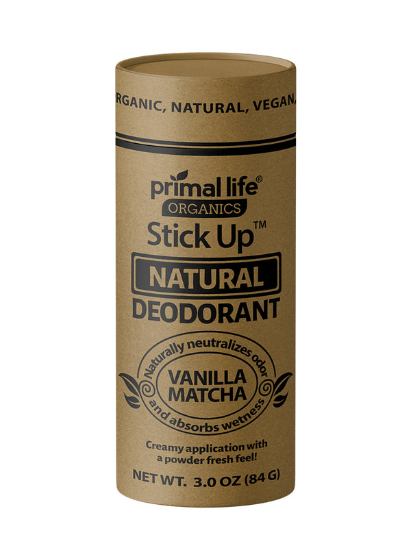 Natural Deodorant 3 oz Stick Up (3 Month)