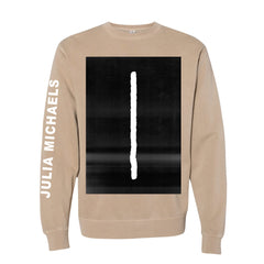 LINE OFF WHITE CREWNECK