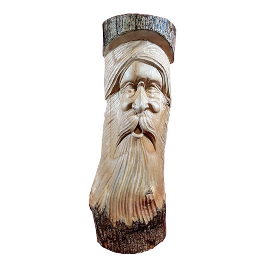 SPIRIT OF THE FOREST STANDING/WALL HANGING, NATURAL, 20 INCH