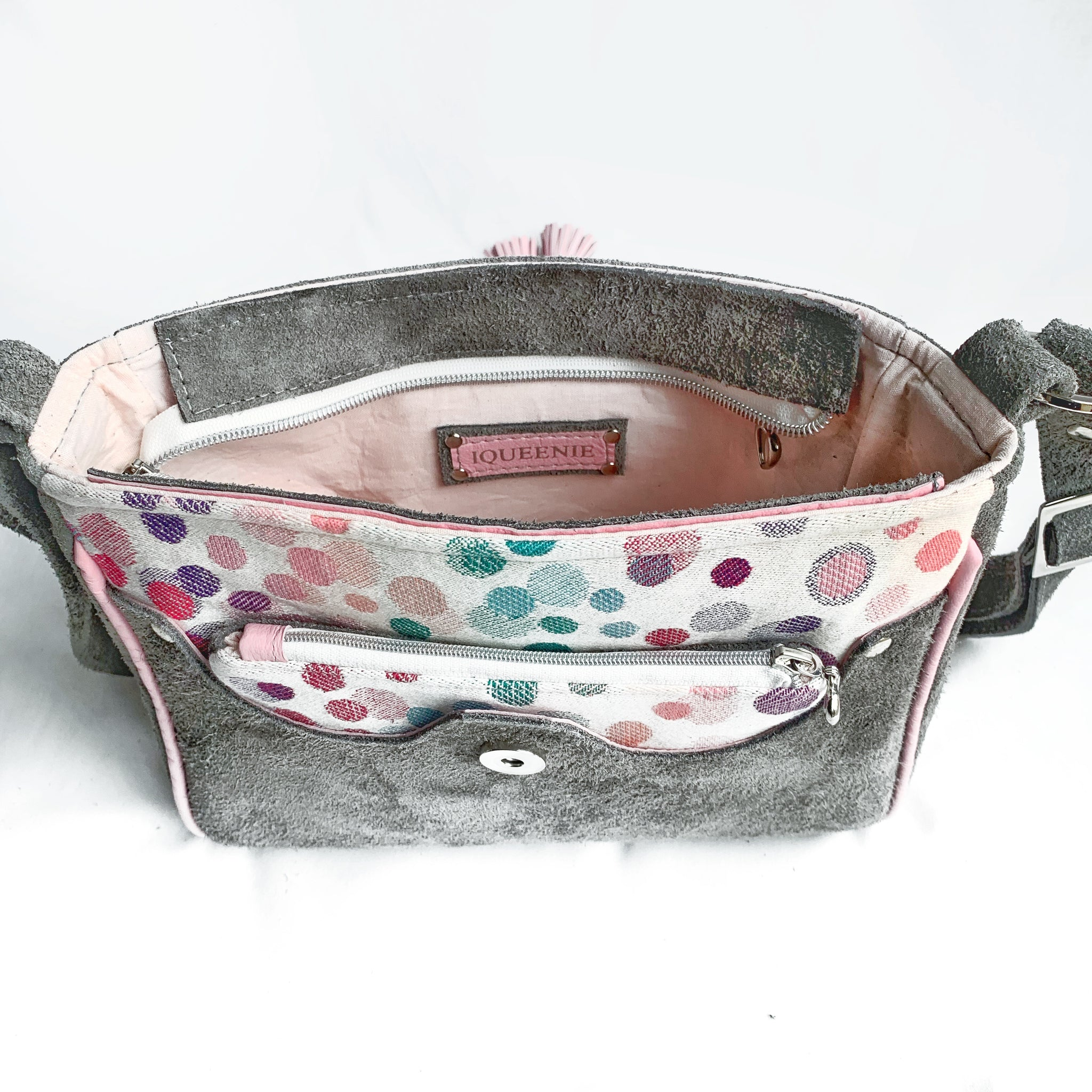 Forget me not sling bag