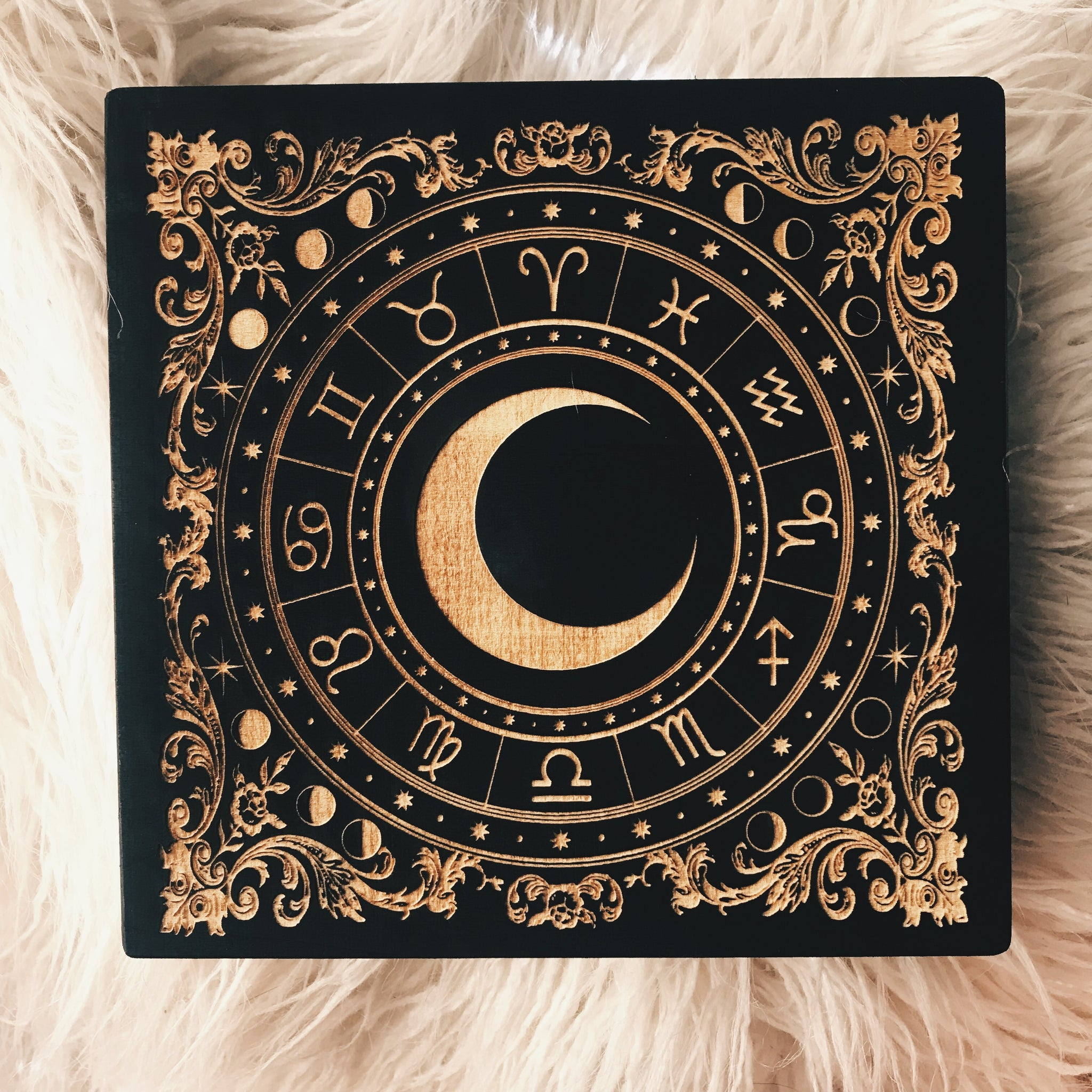 Astrology Altar Trinket Box - Moon Goddess Market