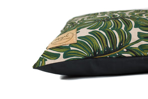Monstera Leaves Dog Bed Cover