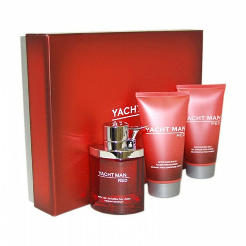 Yacht Man Red Gift Set by Myrurgia