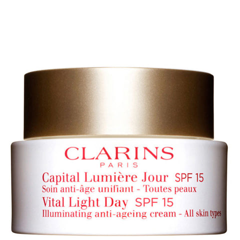 Clarins Vital Light Day Illuminating Anti-Ageing Cream SPF 15 (All Skin Type) by Clarins