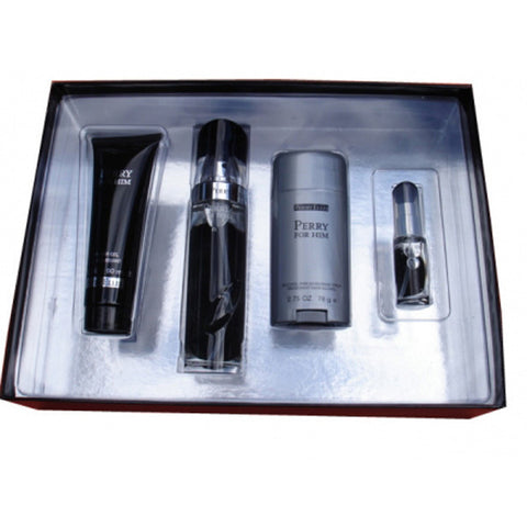 Perry Him Black Gift Set by Perry Ellis