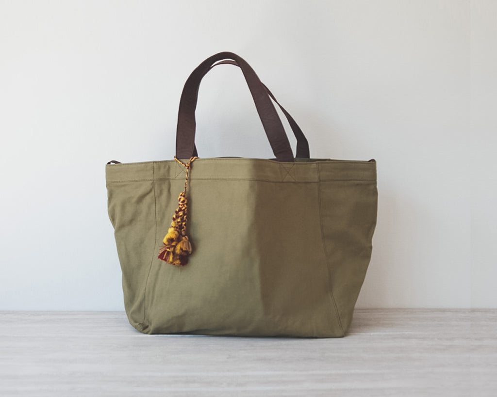 Alberta tote | Army canvas