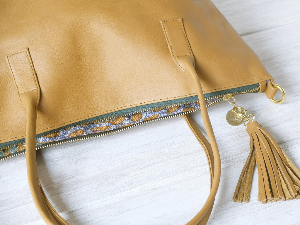 Mimí | Tan - Vive Ninette | One of a kind leather handbags