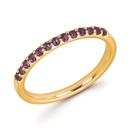 14k Gold and Amethyst Ring - Talisman Collection