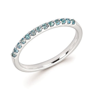 14k Gold and Blue Topaz Ring - Talisman Collection