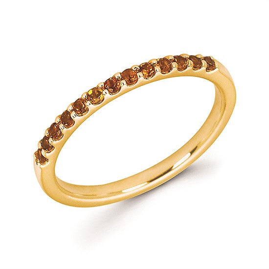 14k Gold and Citrine Ring - Talisman Collection