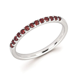 14k Gold and Garnet Ring - Talisman Collection
