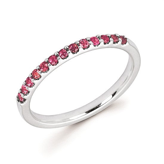 14k Gold and Pink Tourmaline Ring - Talisman Collection