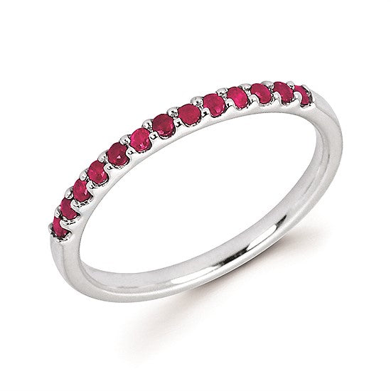 14k Gold and Ruby Ring - Talisman Collection
