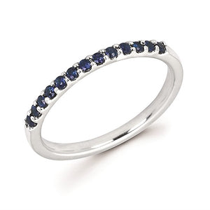 14k Gold and Sapphire Ring - Talisman Collection