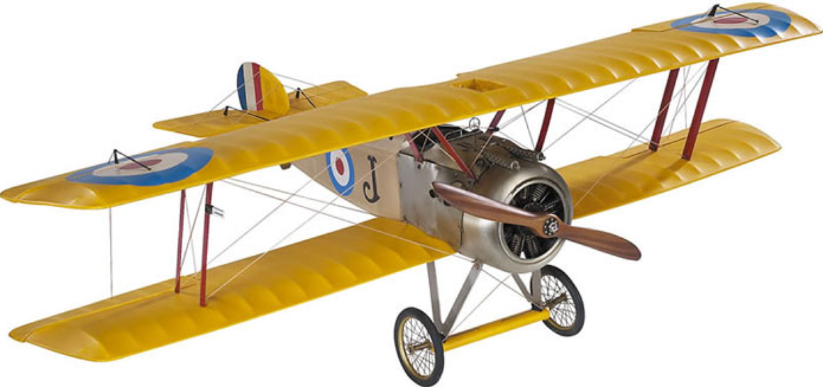 Authentic Models Sopwith Camel Model Plane - Talisman Collection