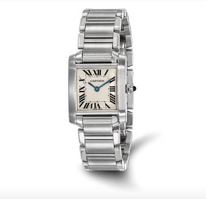 Certified Pre-Owned Cartier Ladies Tank Francaise Watch