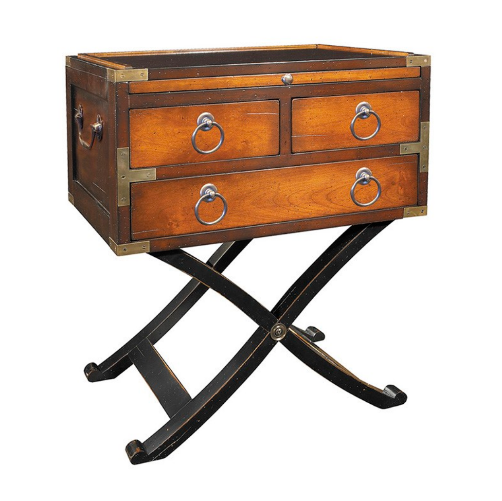 Authentic Models Bombay Box End Table - Talisman Collection