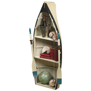 Authentic Models Dory Nautical Rowboat Bookcase/Table - Talisman Collection
