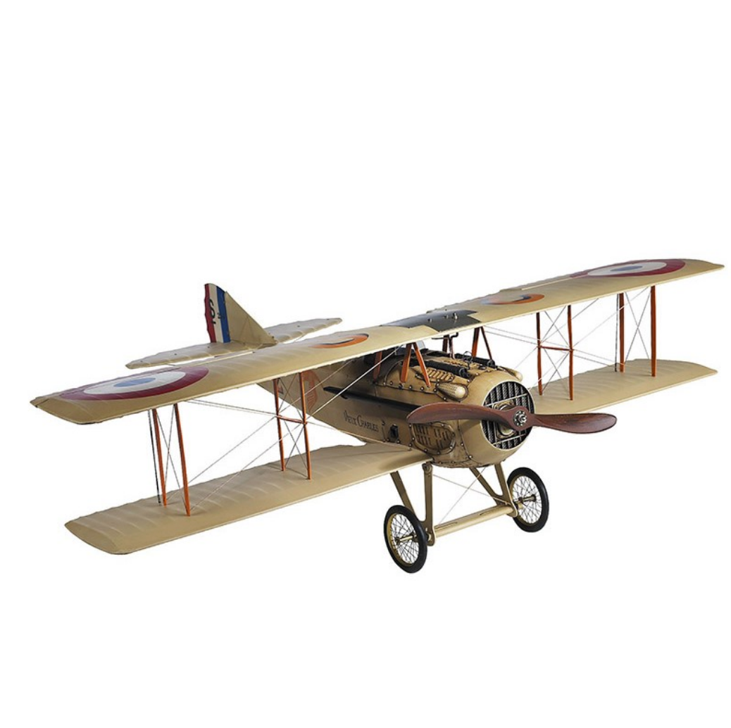 Authentic Models Spad XIII French Model Plane - Talisman Collection
