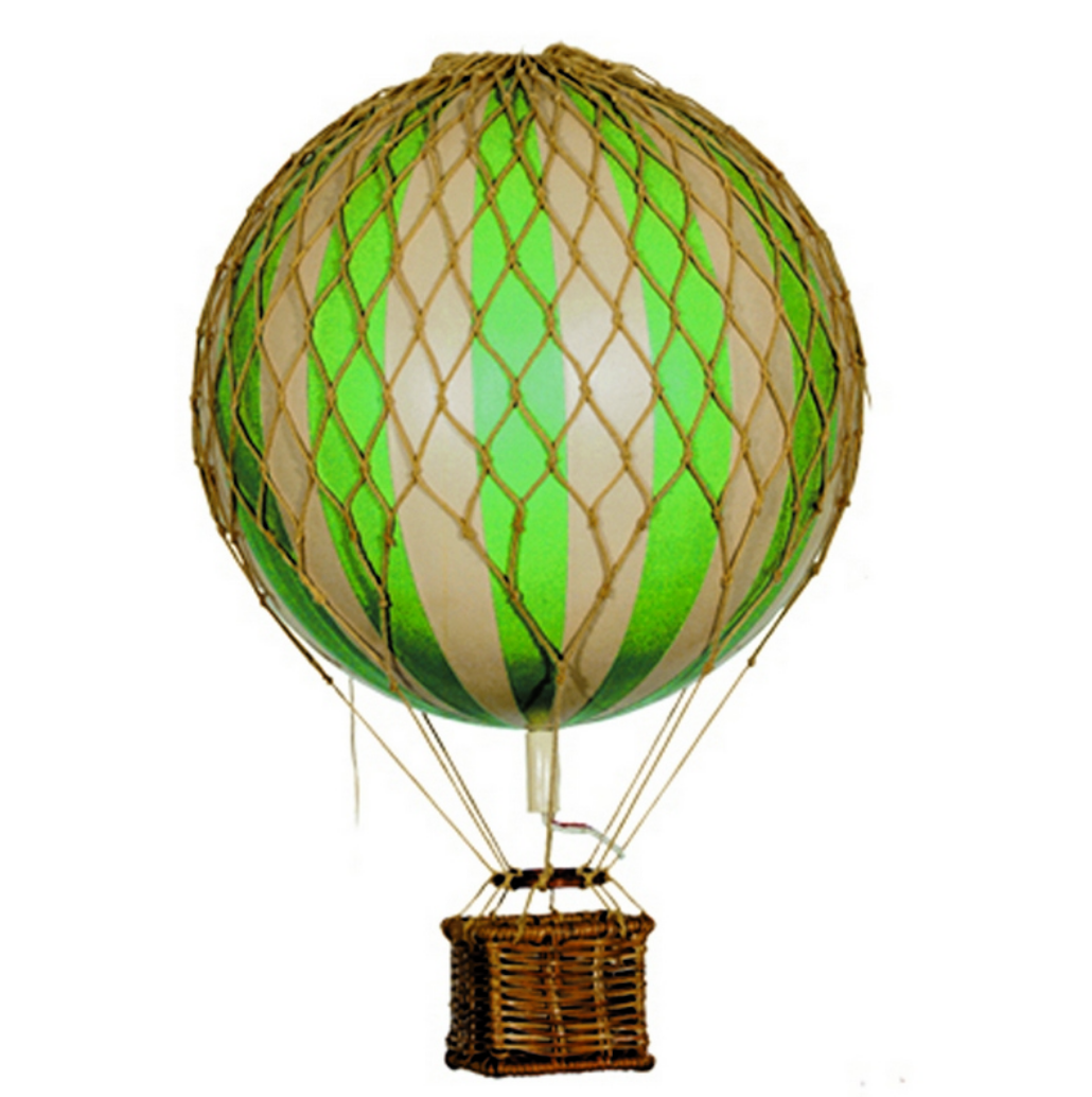 Authentic Models Floating the Skies Mini Hot Air Balloon - Talisman Collection