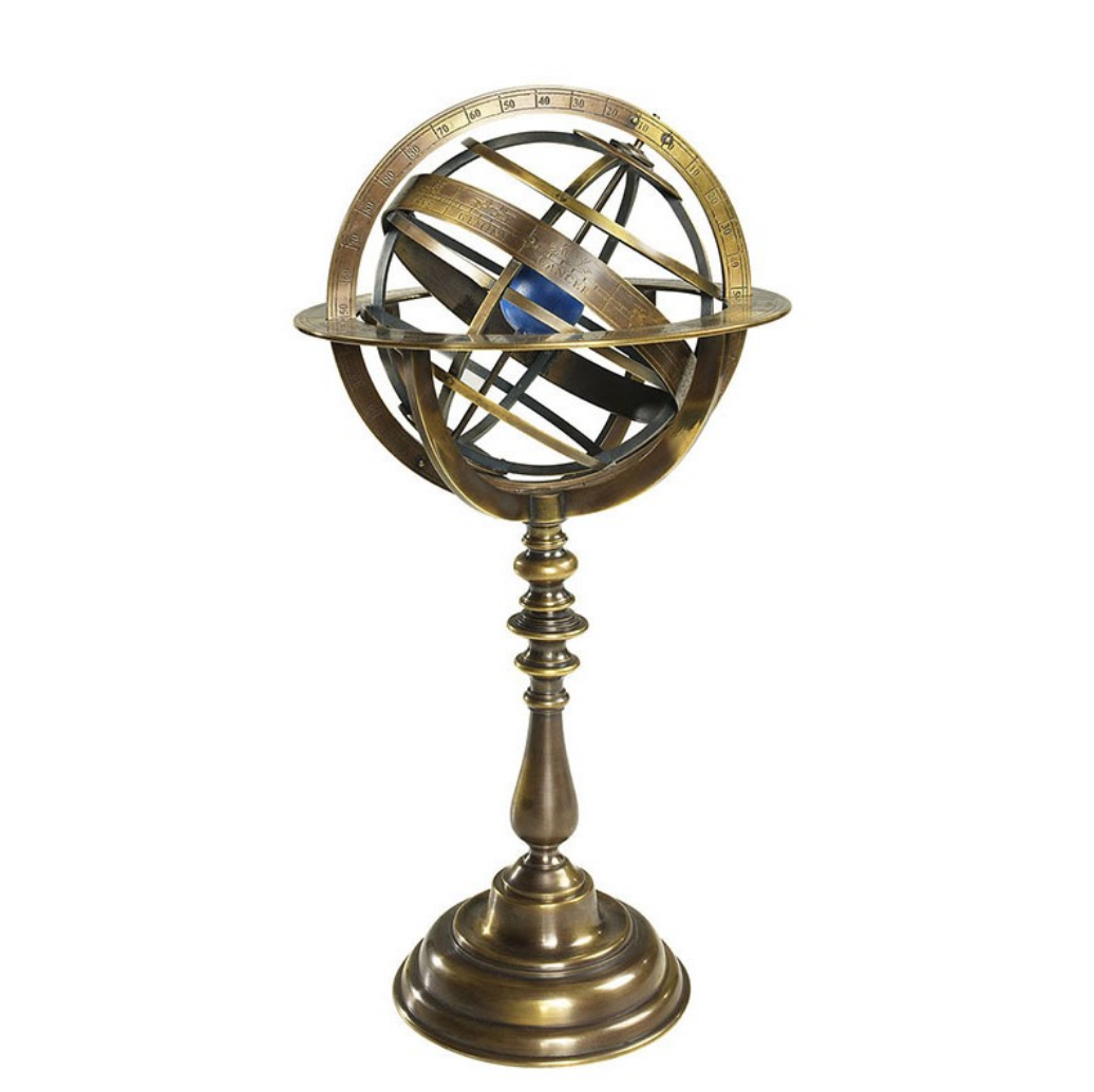 Authentic Models Bronze Armillary Dial - Talisman Collection