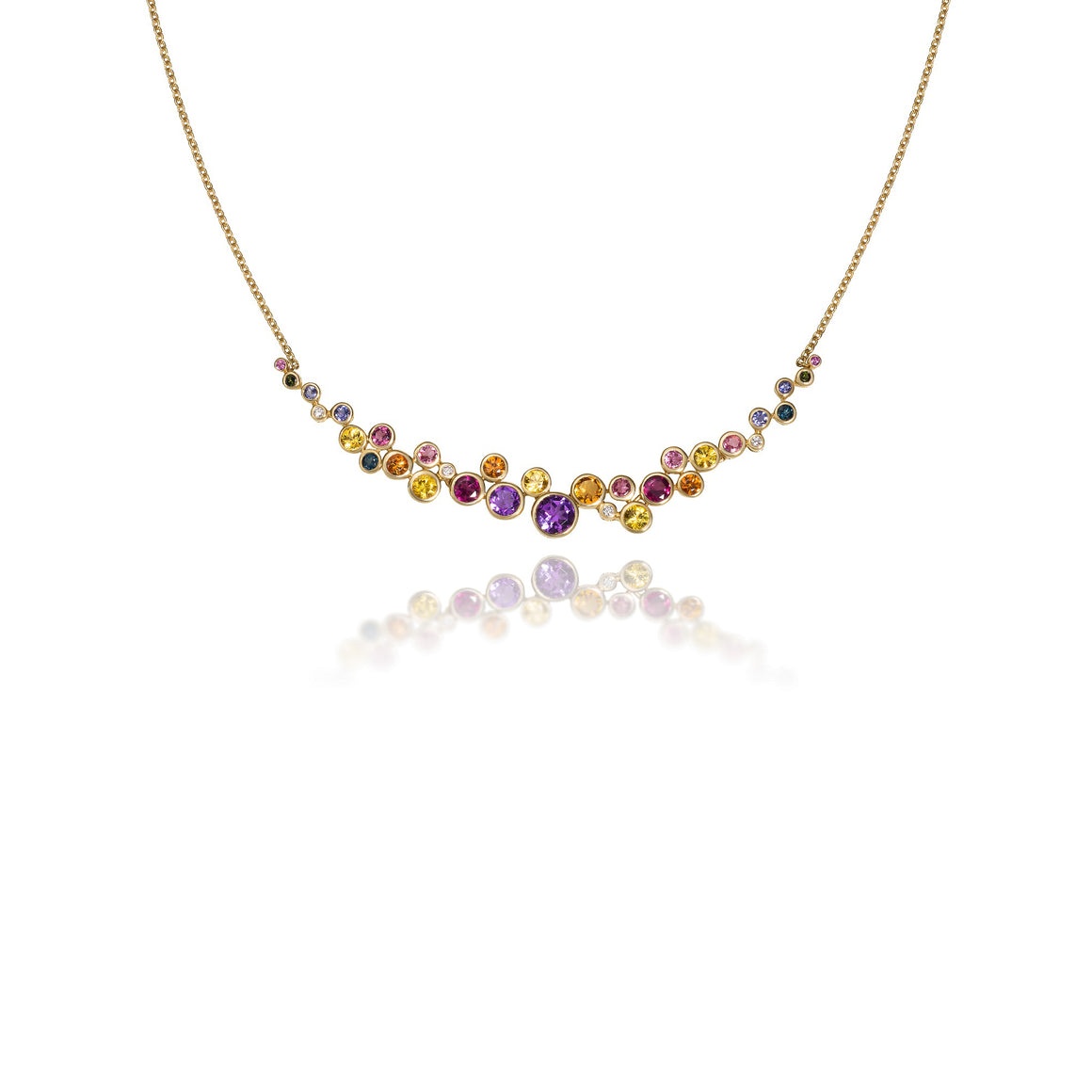 Martha Seely Multi-Color Constellation Necklace