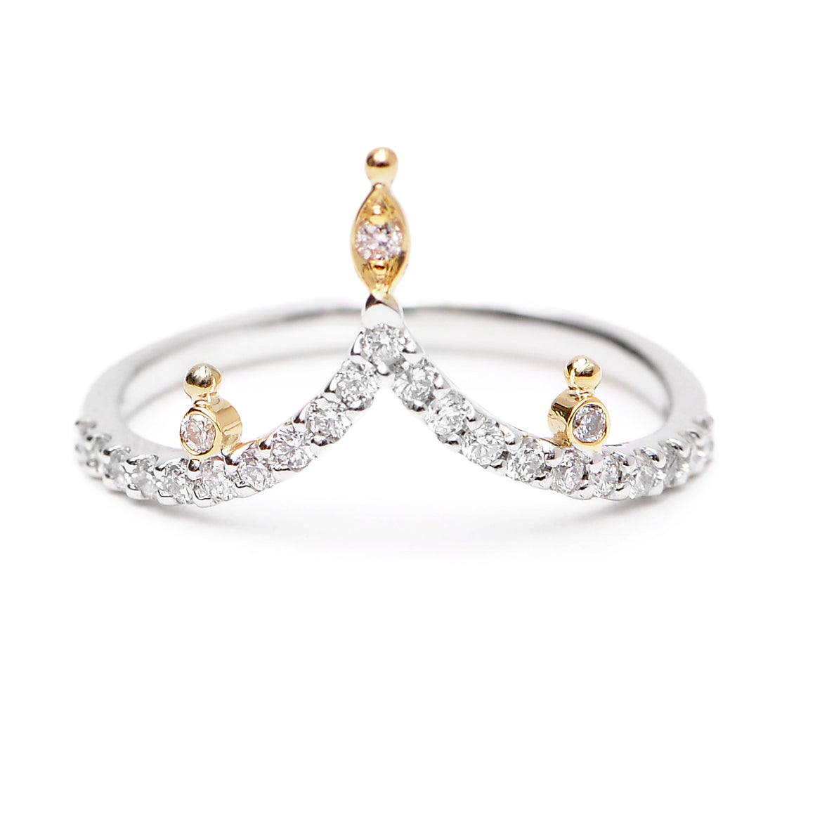 """Bits"" Diamond Band by Unhada - Talisman Collection"