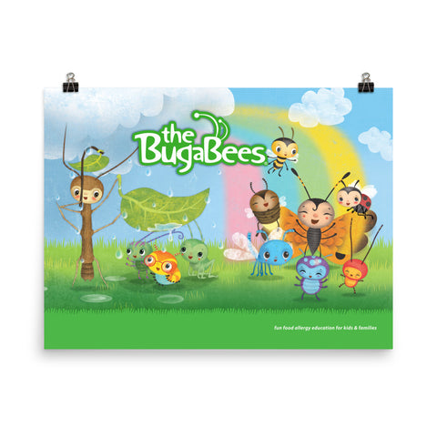 The BugaBees Friends Poster - Small