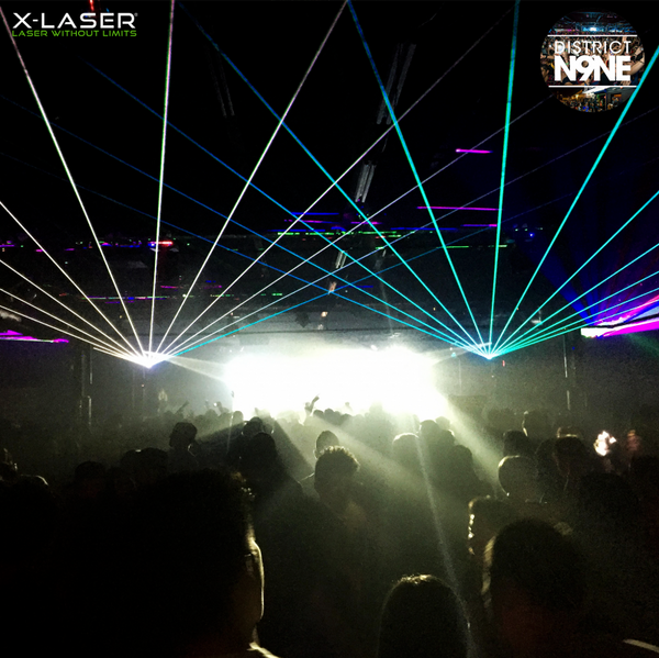 District N9NE cranks up the lighting to 10 with X-Laser fixtures