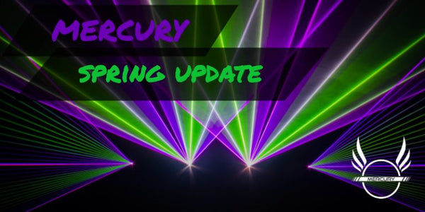 X-Laser Mercury laser control spring update – more effects, more consoles!