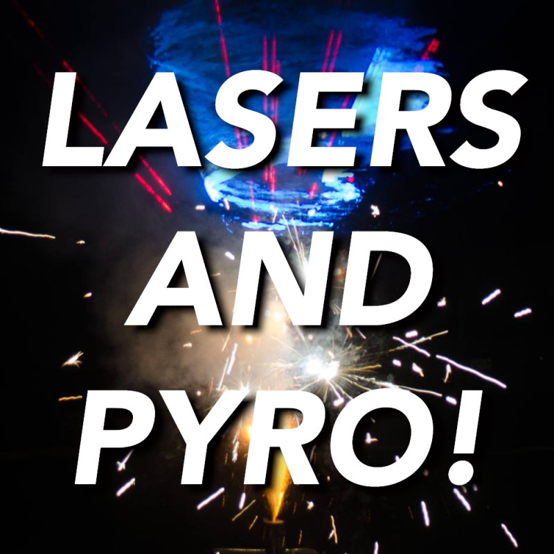 "Lasers and pyro: tips for the ""PB & J"" of special FX"