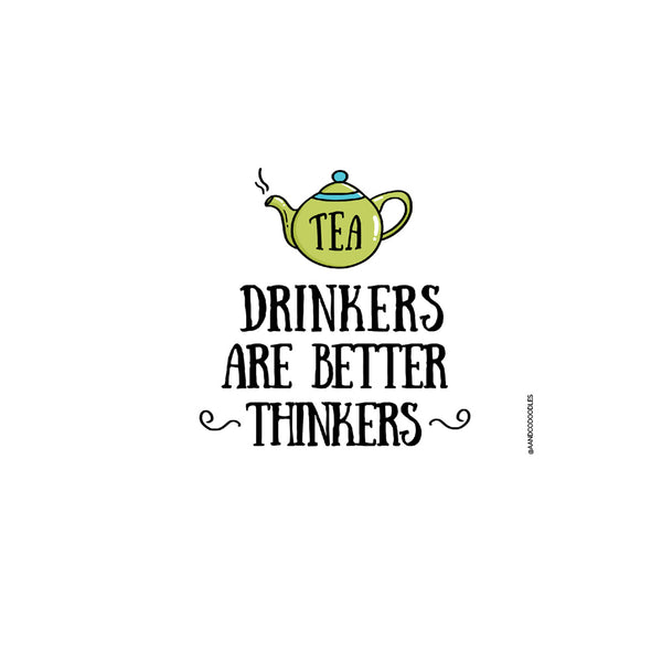 Tea Drinkers Quirky Cool Coaster