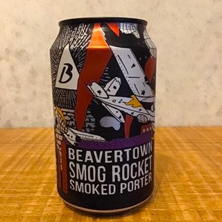Beavertown Smog Rocket Smoked Porter 5.4% ABV - Bottle Stop