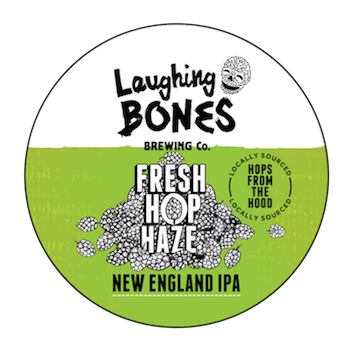 Laughing Bones Fresh Hop Haze IPA 5.8% Growler 1L - Bottle Stop