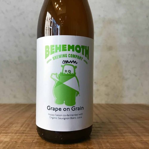 Behemoth x Y2KX Grape On Grain Saison 6.5% 330ml - Bottle Stop