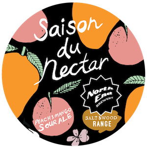 North End Saison Du Nectar Sour 4.5% Growler 1L