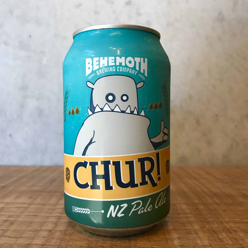 Behemoth Chur NZ Pale Ale 5.5% - Bottle Stop