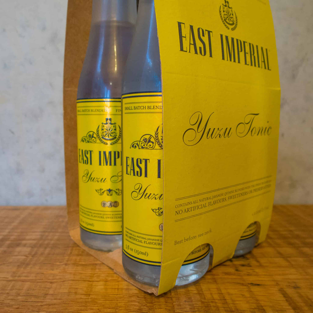 East Imperial Yuzu Tonic 4 pack - Bottle Stop