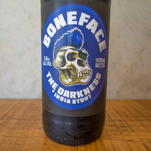 Boneface The Darkness India Stout 5.8% - Bottle Stop
