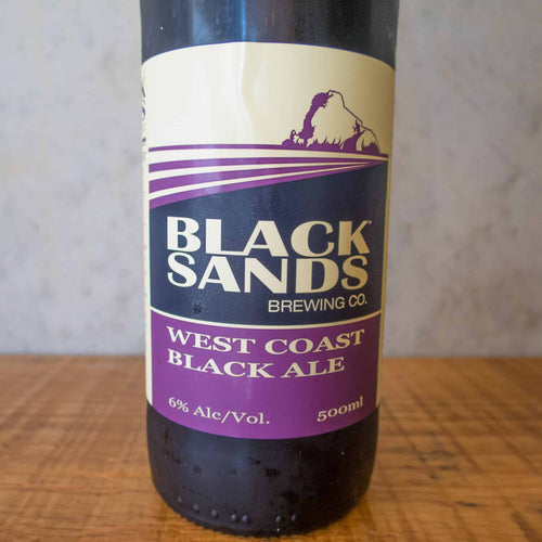 Black Sands West Coast Black Ale 6% - Bottle Stop