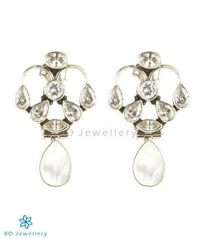 Purchase gorgeous MOP silver earrings online